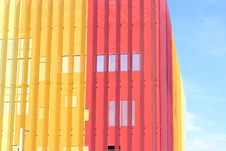 Free Pink And Yellow Building Stock Photos - 82980803