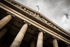Free Front Of British Museum, London, England Royalty Free Stock Images - 82981339