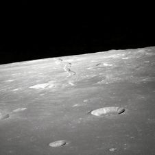Free Craters On Lunar Surface Royalty Free Stock Image - 82981496