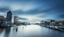 Free Amsterdam Seen From Amstel Stock Photography - 82981572