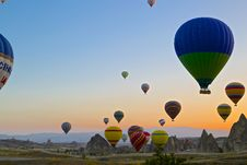 Free Hot Air Balloons Royalty Free Stock Photography - 82981697