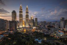 Free Night Scene In Kuala Lumpur, Malaysia Stock Photography - 82982642