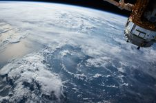 Free View Of Earth From Space Stock Photo - 82982980