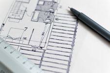 Free Architectural Plans Stock Images - 82983034