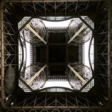 Free Eiffel Tower From Below Royalty Free Stock Image - 82983266