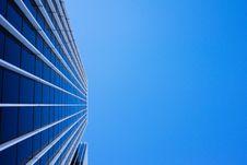 Free Modern Skyscraper Against Blue Skies Royalty Free Stock Images - 82983459