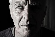 Free Portrait Of Senior Man Stock Photography - 82983852