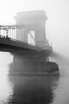 Free Fog Over Bridge Stanchion Stock Image - 82984251
