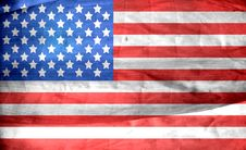 Free Grunge American Flag Stock Image - 82984391