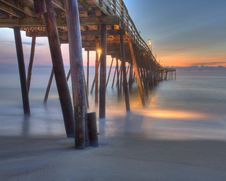 Free Pier At Sunset Royalty Free Stock Image - 82985206