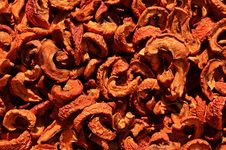 Free Dried Chili Peppers Royalty Free Stock Photo - 82985275