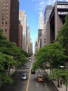 Free Traffic On City Street Royalty Free Stock Image - 82985726