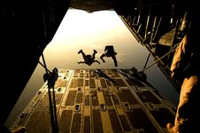Free Two Man Sky Diving In Low Angle Photography Stock Photography - 82985742