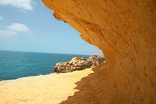 Free Sunny Sand Beach Royalty Free Stock Image - 82985746