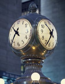 Free Clock In Grand Central Station, New York Stock Photos - 82985753