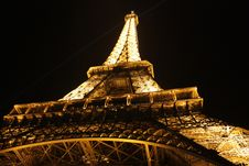Free Eiffel Tower, Paris, France At Night Stock Images - 82985764