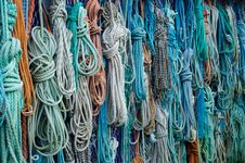 Free Bunch Of Assorted Colored Woven Rope Stock Images - 82986214