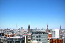 Free Hamburg, Germany Skyline Stock Images - 82986514