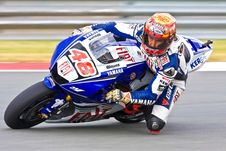 Free Competitor In Motorbike Race Stock Photos - 82986613