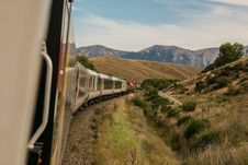 Free Train In Countryside Royalty Free Stock Images - 82987309
