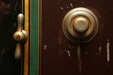 Free Safe With Combination Lock Royalty Free Stock Photos - 82987518