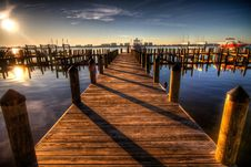 Free Brown Wooden Dock On Blue Water Under White Clouds And Blue Sky During Daytime Royalty Free Stock Photos - 82987538