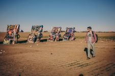 Free Cadillac Ranch Stock Photography - 82987612