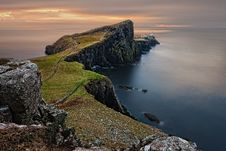 Free Cliffs On The Isle Of Skye In Scotland Royalty Free Stock Photography - 82987907