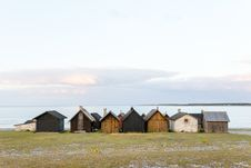Free Houses Beside Sea Royalty Free Stock Photo - 82987945
