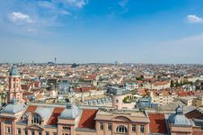 Free View Over The Rooftops In A City  Royalty Free Stock Image - 82988096