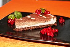 Free Choco Cheesecake Royalty Free Stock Images - 82988209