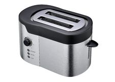 Free White And Black Two Sliced Bred Toaster Royalty Free Stock Images - 82988299