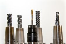Free Black Gray Drill Bit Set Stock Photo - 82988820