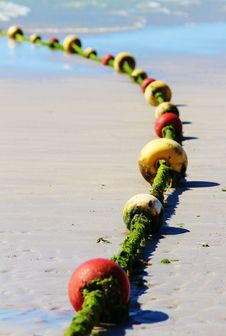 Free Yellow Green And Red Buoys Stock Image - 82988881