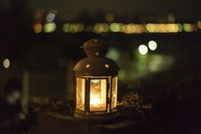 Free Yellow Lantern During Night Royalty Free Stock Images - 82989629