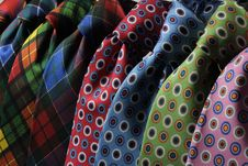 Free Blue And Black Dotted Neck Tie Stock Images - 82989654