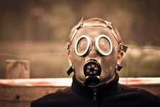 Free Silver Oxygen Mask Royalty Free Stock Images - 82989799