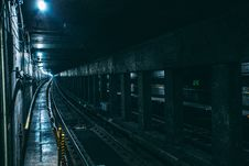 Free Underground Train Railway Stock Image - 82990621