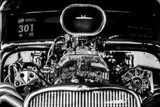 Free Hot Rod Engine Stock Photo - 82990880
