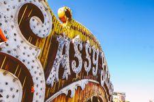 Free Sassy Saloon Sign Stock Photos - 82991393