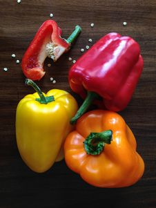 Free Colorful Bell Peppers Stock Photos - 82991983