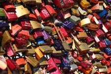 Free Brass Metal Padlock Stock Images - 82992114