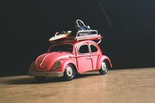 Free Red Volkswagen Toy Stock Images - 82992174