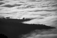 Free Mountain With Clouds Beside On It Stock Images - 82992244