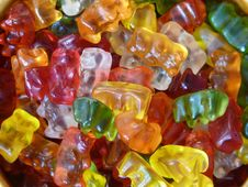 Free Gummy Bears Royalty Free Stock Photography - 82992537