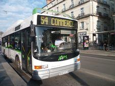 Free Heuliez GX 217 GNV N°415 TAN &x28;Tan | Saint-Herblain&x29; - Nantes &x28;44&x29; Royalty Free Stock Image - 82994536