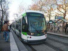 Free Tramway TAN - Nantes &x28;44&x29; Stock Images - 82994644