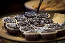 Free Chocolate Cupcakes Royalty Free Stock Photo - 82995345