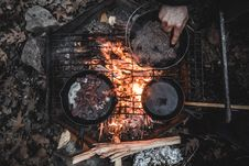 Free Outdoor Cooking Stock Photos - 82995353