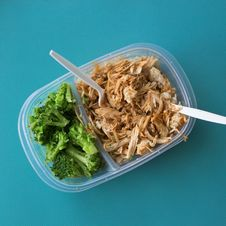Free Tuna Salad On Transparent Lunch Pack Royalty Free Stock Image - 82996816